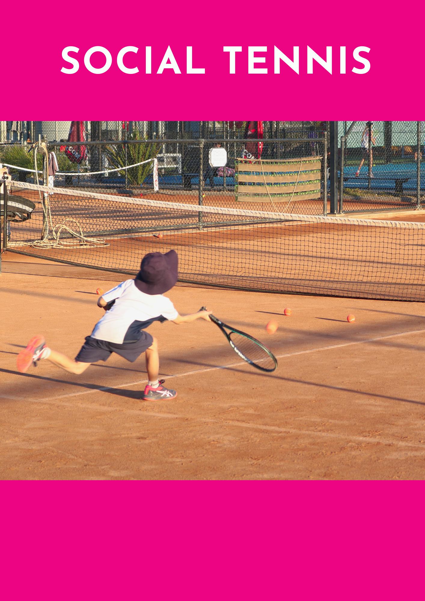 after school program social tennis