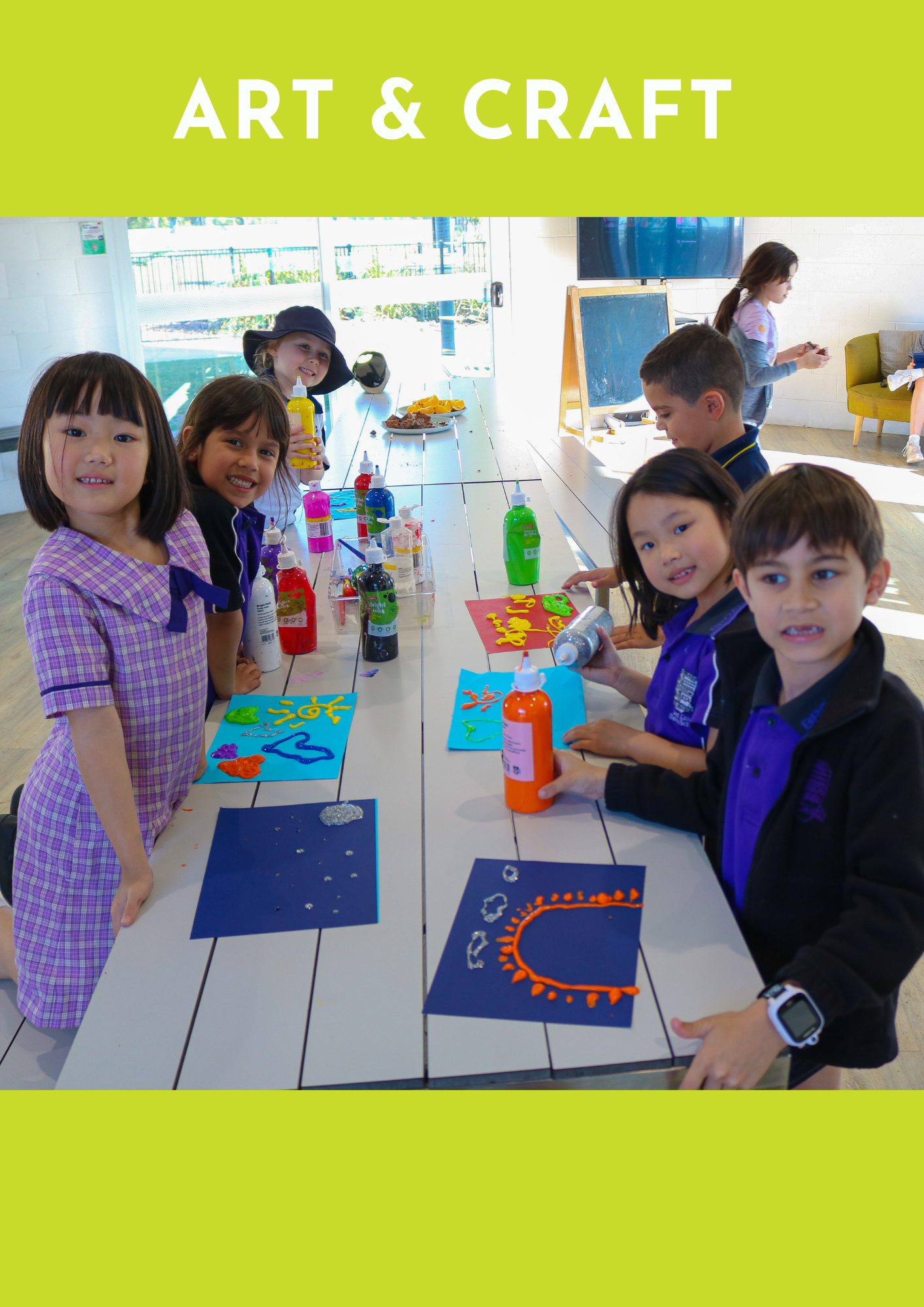 after school program arts and craft